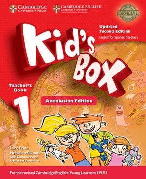 KID'S BOX LEVEL 1 TEACHER'S BOOK UPDATED ENGLISH FOR SPANISH SPEAKERS 2ND EDITIO