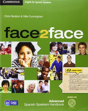 FACE2FACE FOR SPANISH SPEAKERS ADVANCED STUDENT'S PACK (STUDENT'S BOOK WITH DVD-