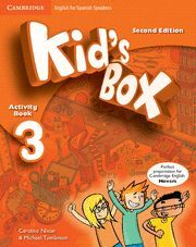 KID'S BOX FOR SPANISH SPEAKERS  LEVEL 3 ACTIVITY BOOK WITH CD ROM AND MY HOME BO