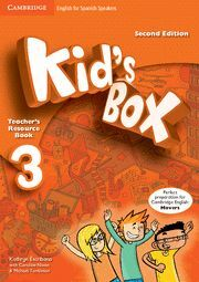 KID'S BOX FOR SPANISH SPEAKERS  LEVEL 3 TEACHER'S RESOURCE BOOK WITH AUDIO CDS (