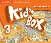 KID'S BOX FOR SPANISH SPEAKERS  LEVEL 3 CLASS AUDIO CDS (4) 2ND EDITION