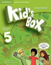 KID'S BOX FOR SPANISH SPEAKERS  LEVEL 5 ACTIVITY BOOK WITH CD ROM AND MY HOME BO