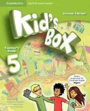 KID'S BOX FOR SPANISH SPEAKERS  LEVEL 5 TEACHER'S BOOK 2ND EDITION