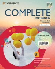 COMPLETE PRELIMINARY SECOND EDITION ENGLISH FOR SPANISH SPEAKERS. SELF-STUDY PAC