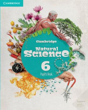 CAMBRIDGE NATURAL SCIENCE. PUPIL'S BOOK. LEVEL 6