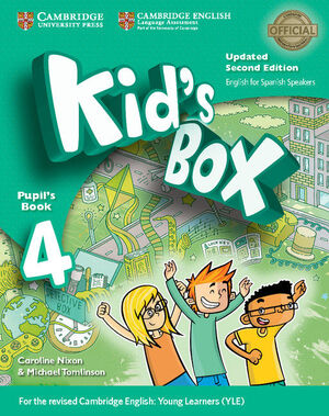 KID'S BOX LEVEL 4 PUPIL'S BOOK UPDATED ENGLISH FOR SPANISH SPEAKERS 2ND EDITION