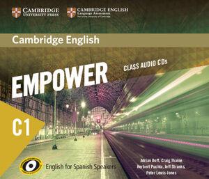 CAMBRIDGE ENGLISH EMPOWER FOR SPANISH SPEAKERS C1 CLASS AUDIO CDS (5)