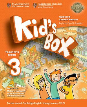 KID'S BOX LEVEL 3 TEACHER'S BOOK UPDATED ENGLISH FOR SPANISH SPEAKERS 2ND EDITIO