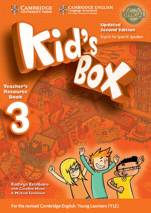 KID'S BOX LEVEL 3 TEACHER'S RESOURCE BOOK WITH AUDIO CDS (2) UPDATED ENGLISH FOR