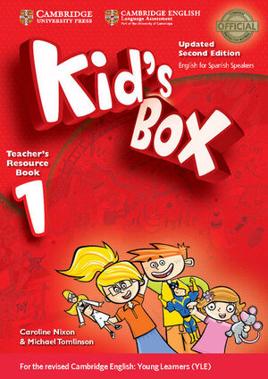 KID'S BOX LEVEL 1 TEACHER'S RESOURCE BOOK WITH AUDIO CDS (2) UPDATED ENGLISH FOR