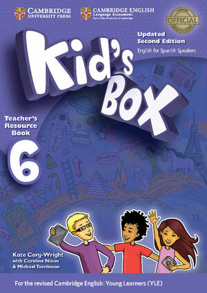 KID'S BOX LEVEL 6 TEACHER'S RESOURCE BOOK WITH AUDIO CDS (2) UPDATED ENGLISH FOR