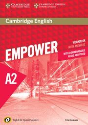 CAMBRIDGE ENGLISH EMPOWER FOR SPANISH SPEAKERS A2 WORKBOOK WITH ANSWERS, WITH DO
