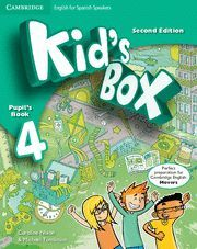 KID'S BOX FOR SPANISH SPEAKERS  LEVEL 4 PUPIL'S BOOK 2ND EDITION