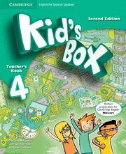 KID'S BOX FOR SPANISH SPEAKERS  LEVEL 4 TEACHER'S BOOK 2ND EDITION