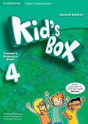 KID'S BOX FOR SPANISH SPEAKERS  LEVEL 4 TEACHER'S RESOURCE BOOK WITH AUDIO CDS (
