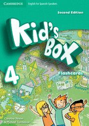 KID'S BOX FOR SPANISH SPEAKERS  LEVEL 4 FLASHCARDS 2ND EDITION