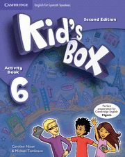 KID'S BOX FOR SPANISH SPEAKERS  LEVEL 6 ACTIVITY BOOK WITH CD ROM AND MY HOME BO