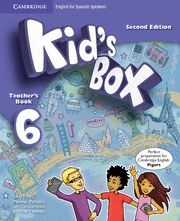 KID'S BOX FOR SPANISH SPEAKERS  LEVEL 6 TEACHER'S BOOK 2ND EDITION