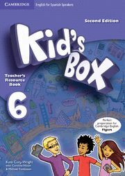 KID'S BOX FOR SPANISH SPEAKERS  LEVEL 6 TEACHER'S RESOURCE BOOK WITH AUDIO CDS (
