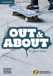 OUT AND ABOUT LEVEL 1 STUDENT'S BOOK WITH COMMON MISTAKES AT BACHILLERATO BOOKLE