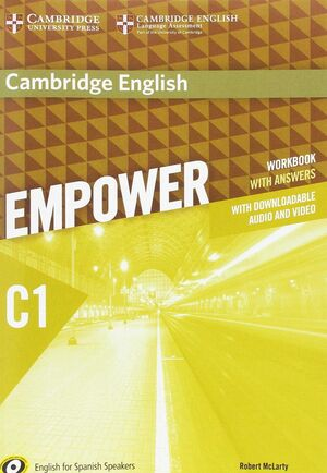 CAMBRIDGE ENGLISH EMPOWER FOR SPANISH SPEAKERS C1 WORKBOOK WITH ANSWERS WITH DOW