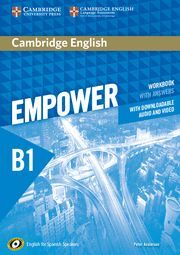 CAMBRIDGE ENGLISH EMPOWER FOR SPANISH SPEAKERS B1 WORKBOOK WITH ANSWERS, WITH DO