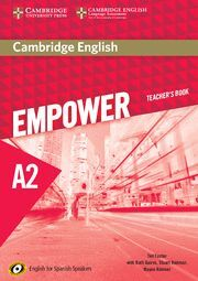 CAMBRIDGE ENGLISH EMPOWER FOR SPANISH SPEAKERS A2 TEACHER'S BOOK