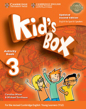 KID'S BOX LEVEL 3 ACTIVITY BOOK WITH CD ROM AND MY HOME BOOKLET UPDATED ENGLISH