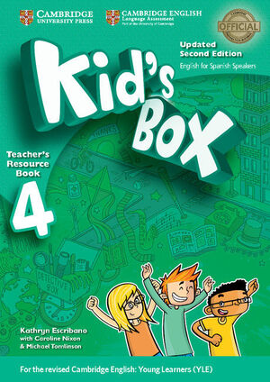 KID'S BOX LEVEL 4 TEACHER'S RESOURCE BOOK WITH AUDIO CDS (2) UPDATED ENGLISH FOR
