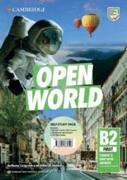 OPEN WORLD FIRST ENGLISH FOR SPANISH SPEAKERS. SELF-STUDY PACK (STUDENT'S BOOK W