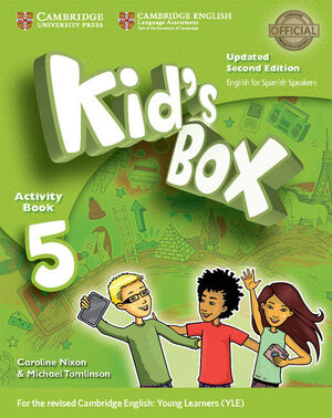 KID'S BOX LEVEL 5 ACTIVITY BOOK WITH CD ROM AND MY HOME BOOKLET UPDATED ENGLISH