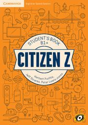 CITIZEN Z B1+ STUDENT'S BOOK WITH AUGMENTED REALITY
