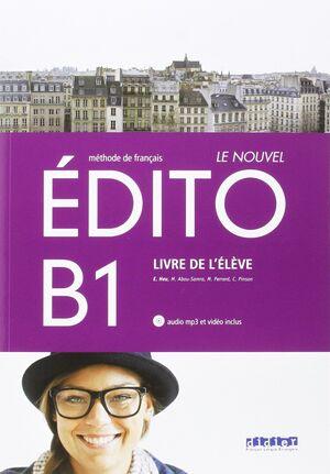 LE NOUVEL EDITO B1 ELEVE+CD+DVD