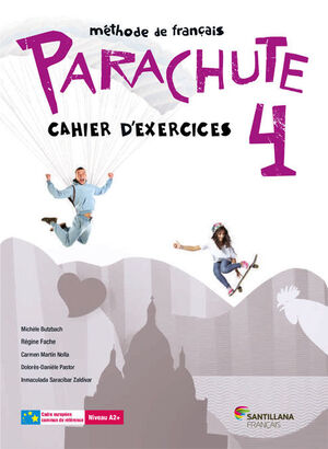 PARACHUTE 4 PACK CAHIER D'EXERCICES