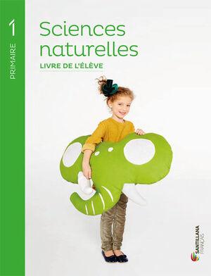 1PRI SCIENCES NATURELLES ELEVE+AUTOCOLLANTS ED18