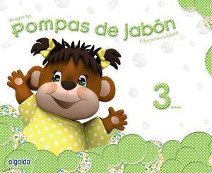 POMPAS DE JABÓN 3 AÑOS.