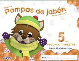 POMPAS DE JABÓN 5 AÑOS. 2º TRIMESTRE.