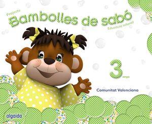 BAMBOLLES DE SABÓ 3 ANYS