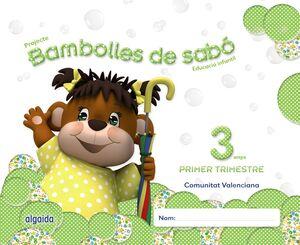 BAMBOLLES DE SABÓ 3 ANYS. 1º TRIMESTRE