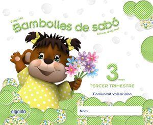 BAMBOLLES DE SABÓ 3 ANYS. 3º TRIMESTRE