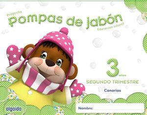 POMPAS DE JABÓN 3 AÑOS. 2º TRIMESTRE.