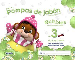 POMPAS DE JABÓN. BUBBLES AGE 3. PRE-PRIMARY EDUCATION. SECOND TERM