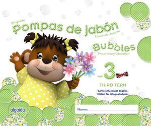 POMPAS DE JABÓN. BUBBLES AGE 3. PRE-PRIMARY EDUCATION. THIRD TERM