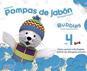 POMPAS DE JABÓN. BUBBLES AGE 4. PRE-PRIMARY EDUCATION
