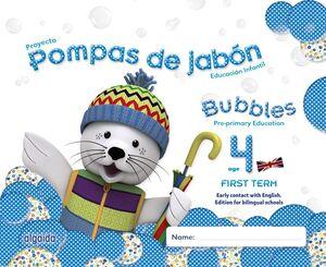 POMPAS DE JABÓN. BUBBLES AGE 4. PRE-PRIMARY EDUCATION. FIRST TERM