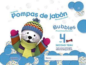 POMPAS DE JABÓN. BUBBLES AGE 4. PRE-PRIMARY EDUCATION. SECOND TERM