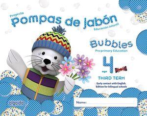 POMPAS DE JABÓN. BUBBLES AGE 4. PRE-PRIMARY EDUCATION. THIRD TERM