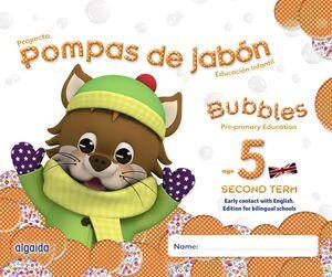 POMPAS DE JABÓN. BUBBLES AGE 5. PRE-PRIMARY EDUCATION. SECOND TERM