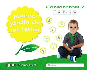 NUEVO JARDÍN DE LAS LETRAS. CONSONANTES 2. CUADRÍCULA