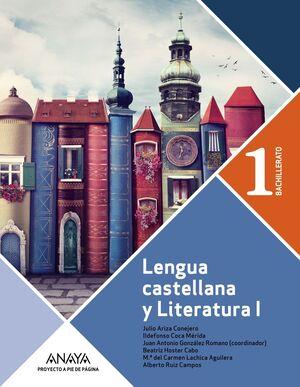 LENGUA CASTELLANA Y LITERATURA 1º BACHILLERATO. PROYECTO A PIE DE PÁGINA.